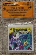 1995 Goosebumps Stick-R-Treats stickers in package
