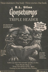 Triple Header Book 1 bookad from OS60 1997