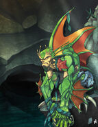 Rikuo the Merman Emperor by Zatransis