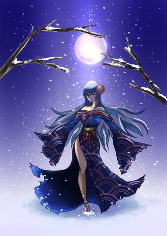 File:Yuki onna by KinGinNatsuke.jpg