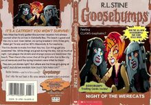 Goosebumps mh werecats by trackforce-d8xj96q