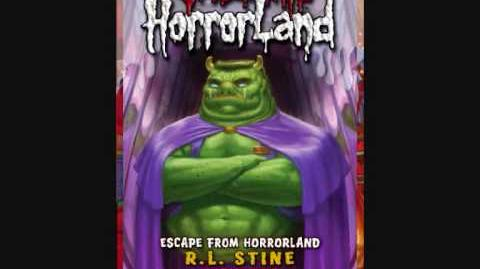 Books of Goosebumps horrorland