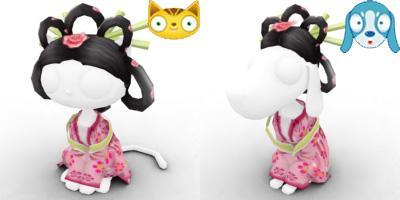 Zhi Nju costumes