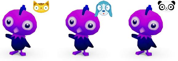 Purple Chick Micropets
