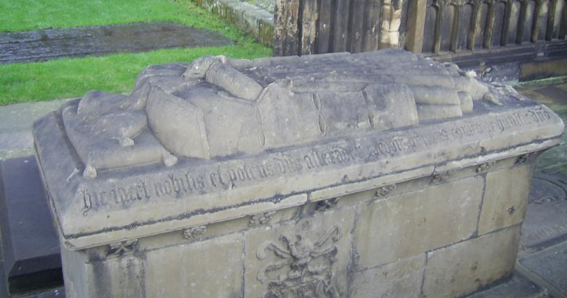 Alexander Gordon 1st Earl of Huntly - Tomb