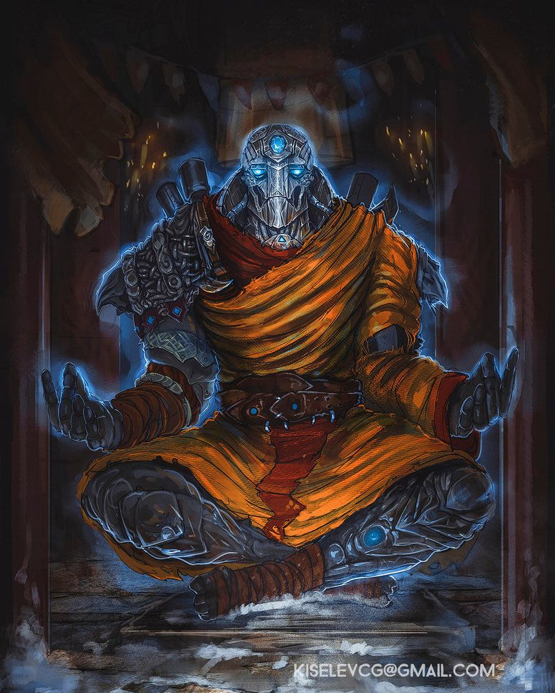 Soulknife monk