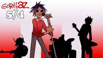 Gorillaz - 5 4 Fan Animation *G-BITE TEASER*-0