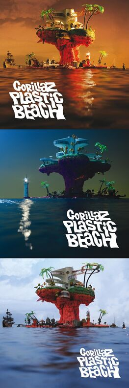 Plastic Beach Covers