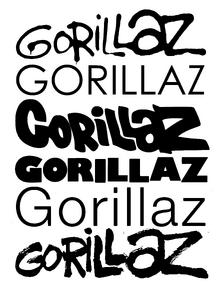 Все логотипы Gorillaz