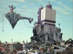 Kong Studios в обжитом состоянии.