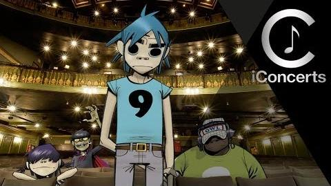 IConcerts - Gorillaz (feat De La Soul) - Feel Good Inc
