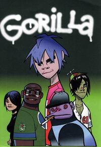 Gorilla original lineup s
