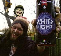 White light cover art