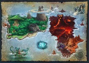 Scenerie 5 map gormiti