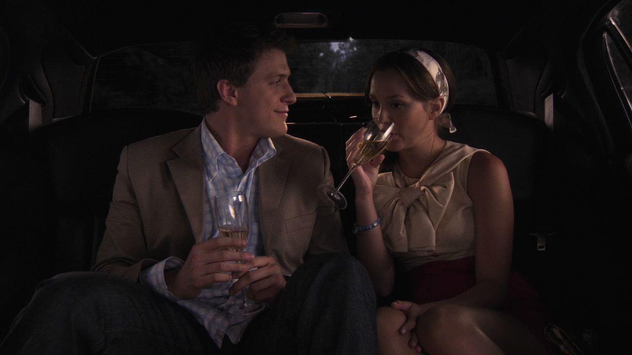 Gossip girl sex in a bus