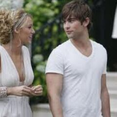 Nate and Serena Gossip Girl