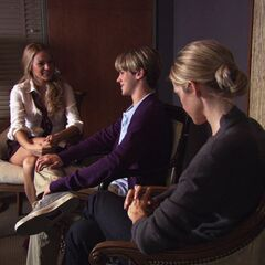 Lily,Eric, and Serena at their counselling session