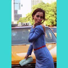 Blair posing