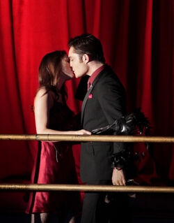 Chuck blair kiss
