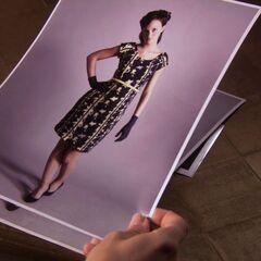 Blair's modelling photos