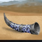 Valyrian Steel Dragon Horn