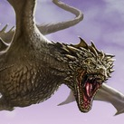 Mature Tan Dragon