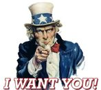 Uncle sam recruit poster