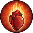R'hllor Temple Fiery Heart Banner Upgrade