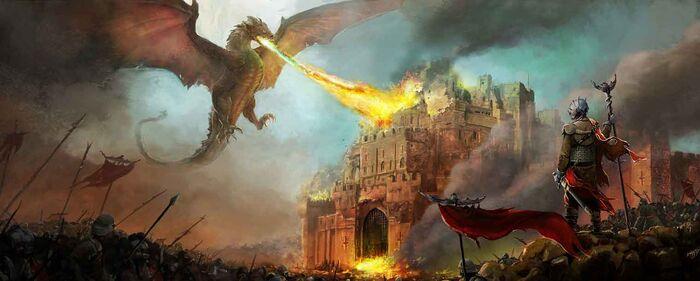 World Dragon Attack