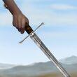 Valyrian Steel Bastard Sword