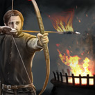 Blazing Fire Archer