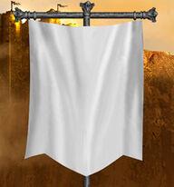 White Banner