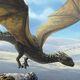 Adolescent Tan Dragon