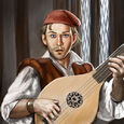 Sworn Sword Male Bard