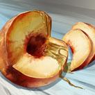 Peaches in Honey