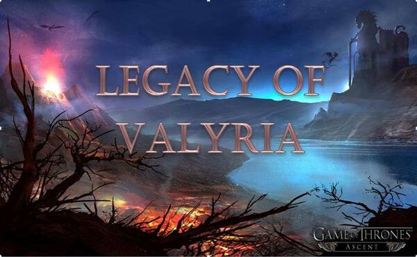 Legacy of Valyria Banner