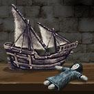 Shireen Baratheon's Toy Boat