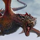 Mature Red Dragon