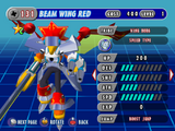 Beam Wing Red