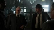 Nathaniel Barnes, Harvey Bullock, Alfred Pennyworth and Lucius Fox - Worse Than A Crime