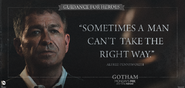 Sometimes a man can't take the right way - Guidance for Heroes