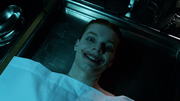 Jerome Valeska's smiling dead corpse