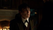 Oswald Cobblepot telling Don Falcone that Liza was Fish Mooney's mole