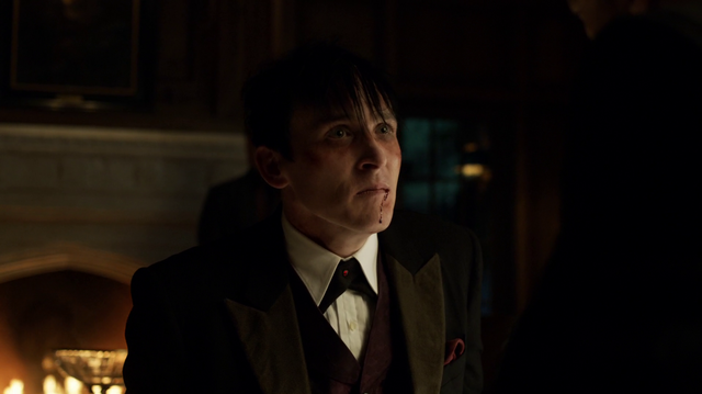 File:Oswald Cobblepot telling Don Falcone that Liza was Fish Mooney's mole.png