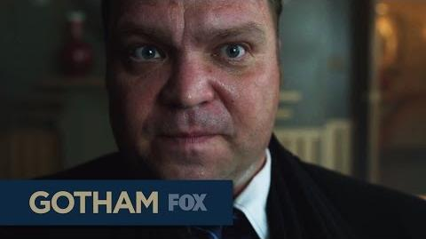 """GOTHAM Cracking Up from """"Rise of the Villains By Fire"""""""