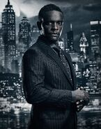 Lucius Fox season 4 promotional