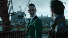 How the Riddler Got His Name Edward with Oswald Hallucination by Docks