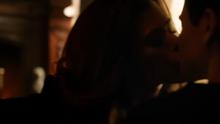 Ivy Bruce kiss