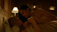 Barbara Kean and Renee Montoya in bed