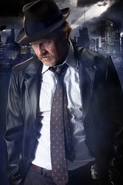 Harvey Bullock season 1 promotional poster